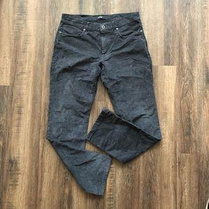 Incotex Mens 5 pkt Ray Regular Pants 33 gray Italy